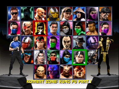 Mortal Kombat Trilogy (optimized for Vista)