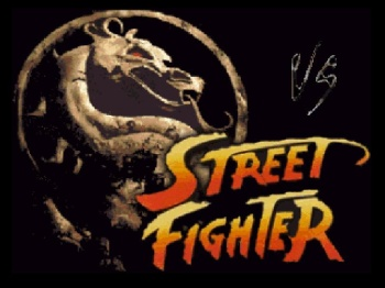 Mortal Kombat vs Street Fighter V3