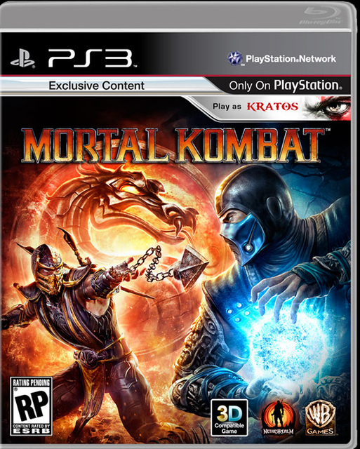 Mortal Kombat PS3-CHARGED