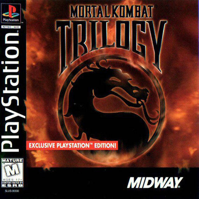 PSX PS1 PSOne Mortal Kombat Trilogy