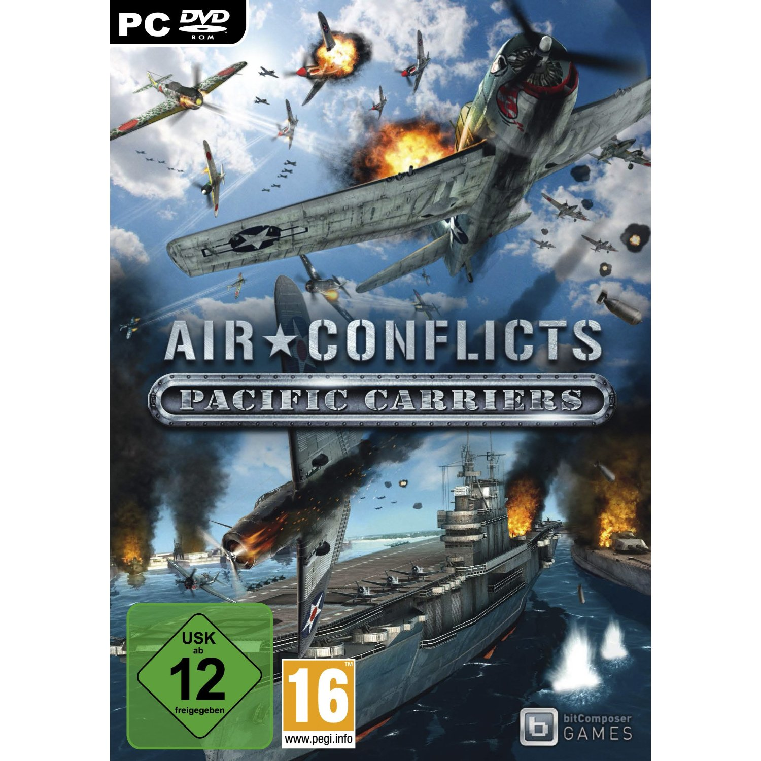 Air Conflicts: Pacific Carriers (2012) PC