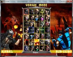 M.U.G.E.N Mortal Kombat Ultimate HD v2.0